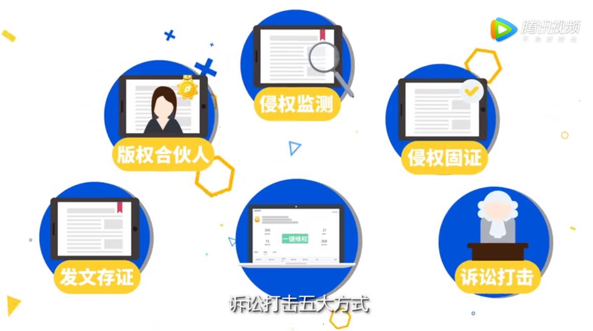 区块链技术助力腾讯内容开放平台版权保护