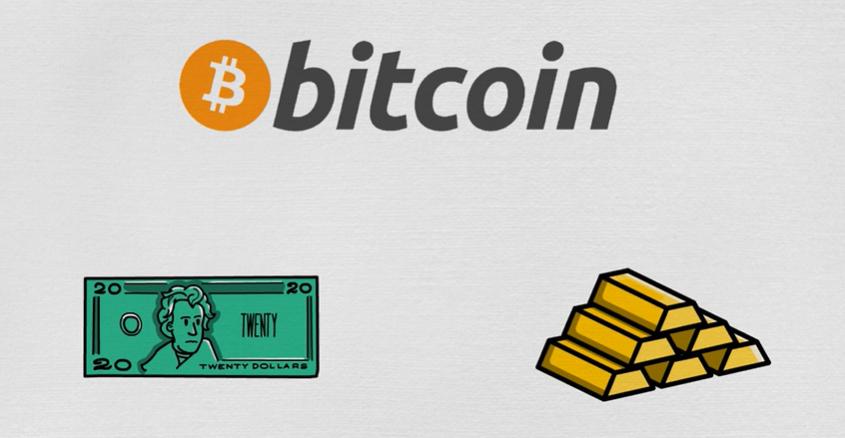 比特币与传统货币的不同